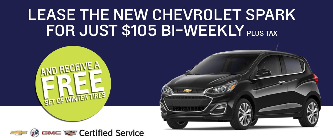 Lease a New Spark for $105 Bi-Weekly